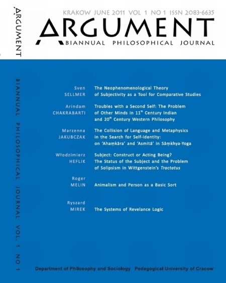 Essays in philosophy a biannual journal